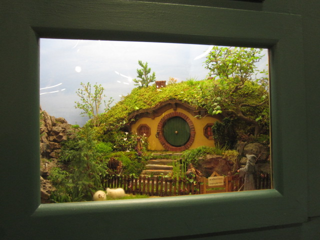 A really tiny hobbit-inspired garden
