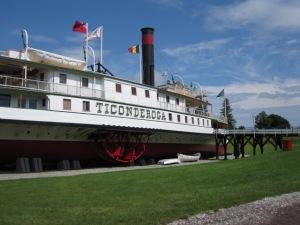 Steamboat Ticonderoga, Shelburne Museum